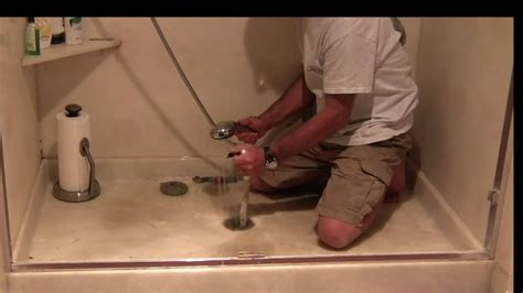 fixing  smelly shower youtube