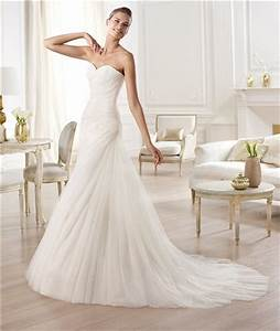 elegant simple a line sweetheart ruched tulle wedding With simple tulle wedding dress