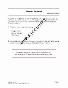 directors resolution mexico legal templates With resolution of trustees template