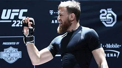 Mcgregor Conor Workout Open Bardown