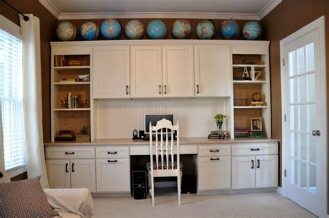 using kitchen cabinets for home office 17 best images about desk home office on 9576