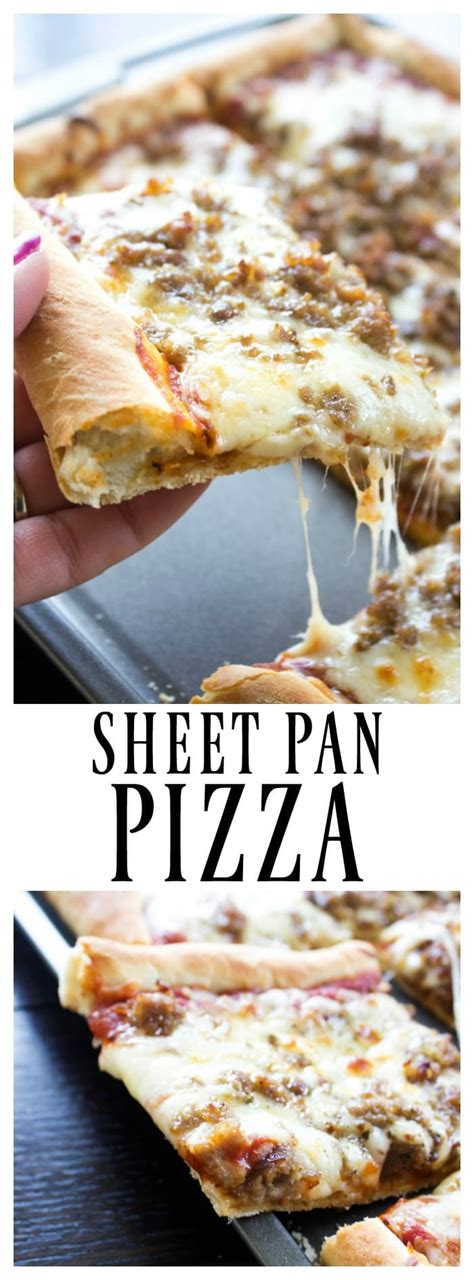 pizza pan sheet recipes recipe homemade dashofsanity easy adashofsanity dash sanity favorite crust baking bread recently updated cookie cheese go