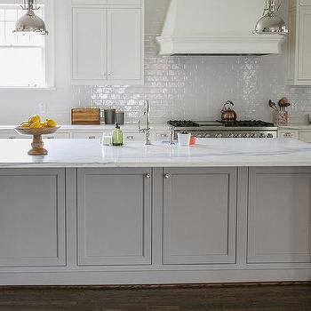 restoration hardware kitchen island white kitchen with grey island transitional kitchen