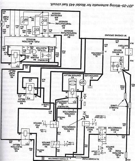 Gx345 Wiring Diagram by Wiring Diagrams For 757 Deere 25 Hp Kawasaki Diagram
