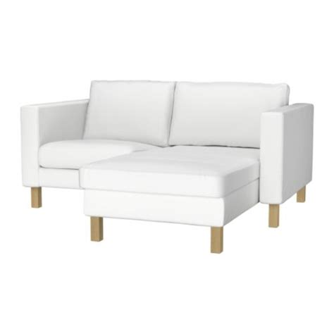 armchair and chaise lounge karlstad armchair and chaise lounge blekinge white ikea