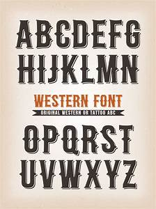 Copy Of A Business Letter Vintage Western And Abc Font Download Free