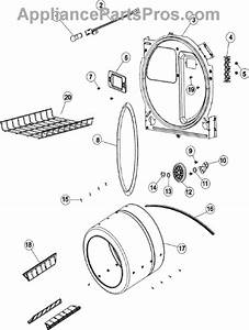 Parts For Admiral Ade7000ayw  Cylinder Parts