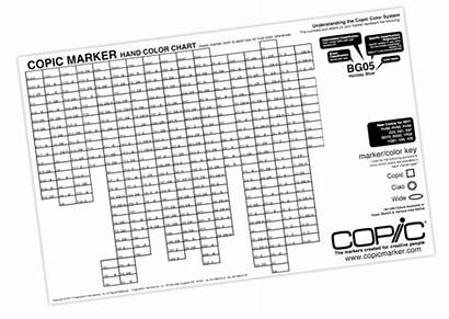 Copic Chart Marker Hand Coloring Scrapbook