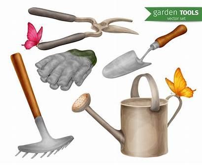 Outils Garden Ensemble Jardin Clipart Tools Lopata