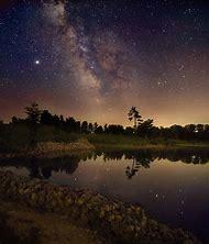 Night Sky Milky Way Galaxy