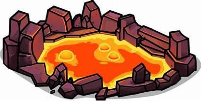 Lava Pool Clipart Transparent Rock Wiki Club