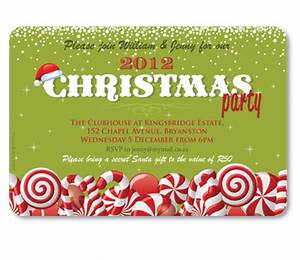 Candyland Christmas Invitation Adult Celebrations