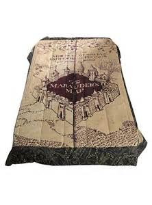 harry potter the marauder s map full queen comforter hot