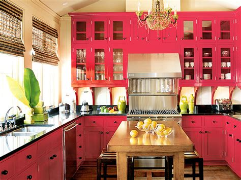 Cabinets For Kitchen Red Kitchen Cabinets