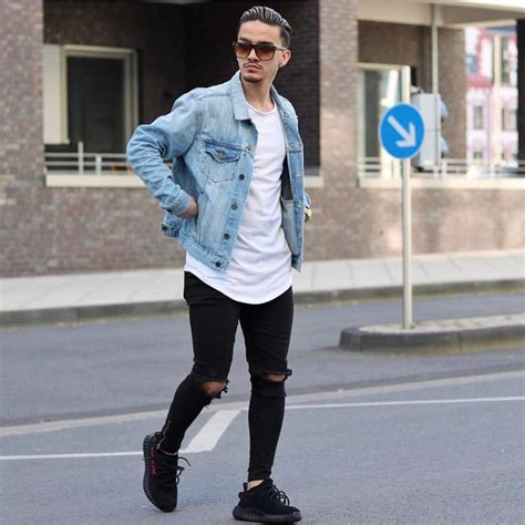Jean Jacket Outfits Men Photo Album - Best Fashion Trends and Models