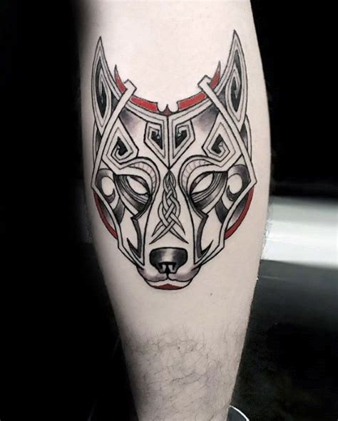 wolf oberarm 50 celtic wolf designs for knotwork ink ideas