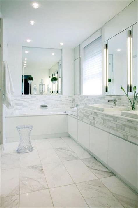 White Modern Bathroom by White Bathroom