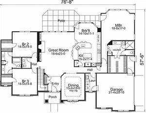 3 bedroom 2 bath ranch house plan alp 09gb chatham for Home plans with jack and jill bathroom