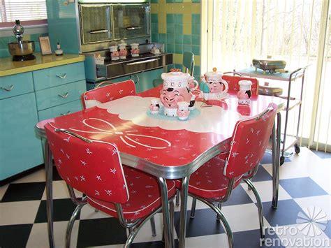 vintage dinette sets  reader kitchens retro renovation