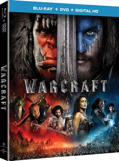 warcraft  uhd blu ray  dvd  digital release date