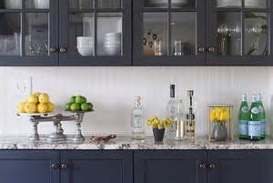 granite topped kitchen island navy kitchen cabinets design decor photos pictures