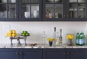 navy blue kitchen cabinets design ideas With kitchen colors with white cabinets with navy and gold wall art