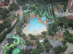 Aventure cove water park, view from cablecar