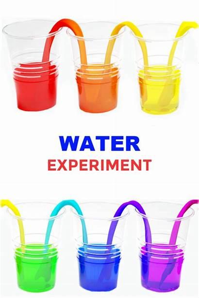 Water Experiment Walking Fun Science Rainbow Materials