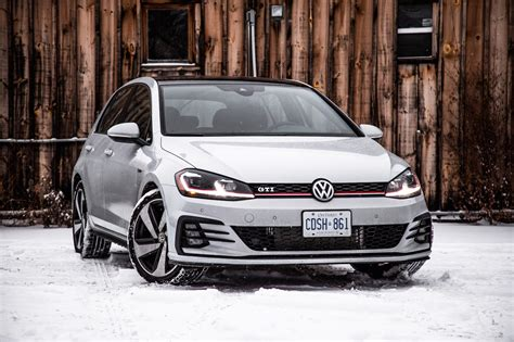 vw golf gti review 2018 volkswagen golf gti autobahn canadian auto