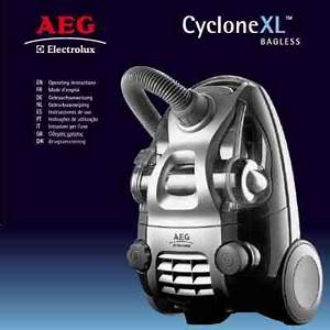 Aeg Electrolux Acx6320cd Cyclone Xl Vacuum Cleaner