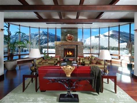 Living Rooms With Great Views by 25 Fireplace Ideas