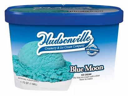 Moon Ice Cream Neapolitan Flavor Hudsonville Vanilla