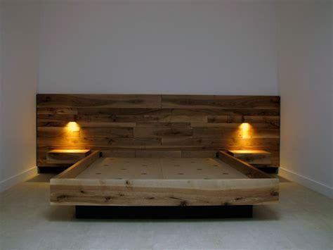 onlywoodbcn cama de madera de nogal madera maciza