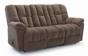Casual plush power reclining sofa with full coverage for Plush sectional sofa with chaise