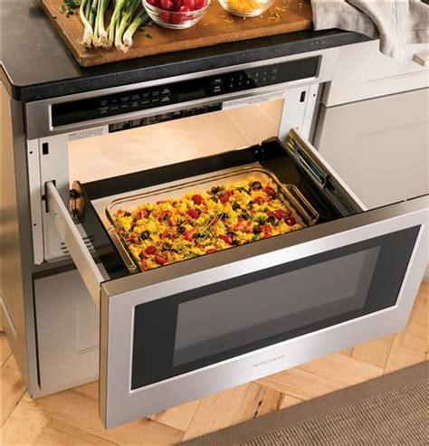 monogram  cu ft drawer microwave zwlsjss ge appliances