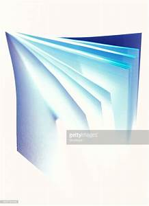 High Angle View Of An Open Book With Pages Flying High-Res ...
