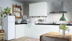 Ikea Cuisine Blanche : les cuisines ikea le blog des cuisines ~ Melissatoandfro.com Idées de Décoration