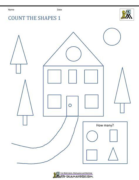 shapes worksheets for grade 1 printable free shape worksheets kindergarten