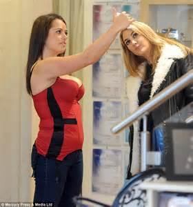 Karen Danczuk goes shopping for Valentine's Day lingerie ...