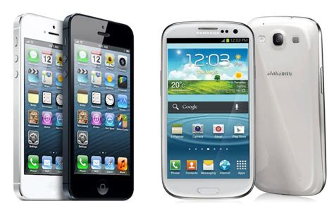 iphone or galaxy iphone 5 vs galaxy s3 displays compared