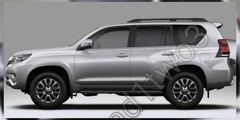 toyota prado 2018 toyota prado facelift leaked update photos 1 of 8