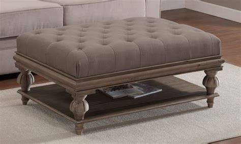 Ottoman As Coffee Table by Large Ottoman Coffee Tables Large Square Ottoman