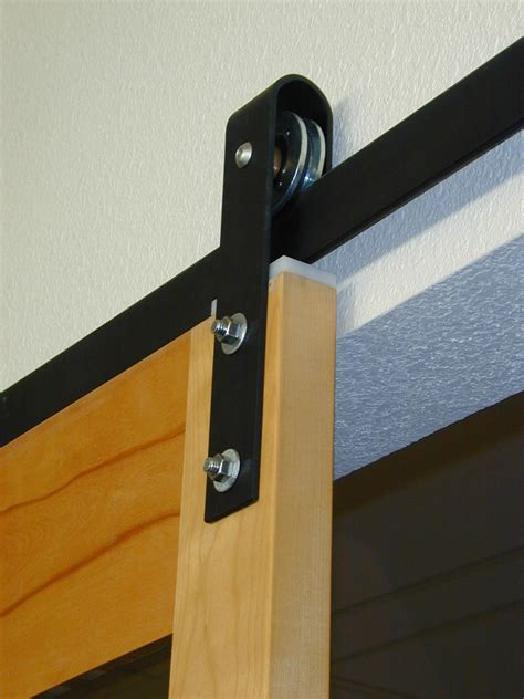 decor exterior sliding barn door track system breakfast