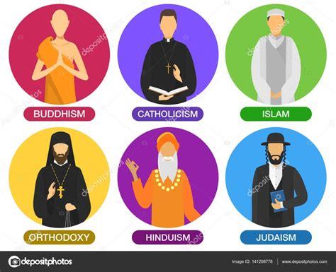 dessin anime religion islam ic 244 nes de ministres de religion image vectorielle fedor