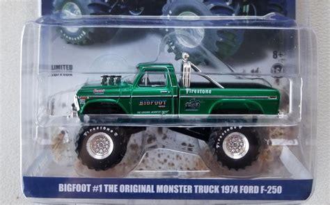 bigfoot   original monster truck diecast green