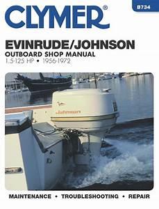 Evinrude Johnson Outboard Marine Engine  1956