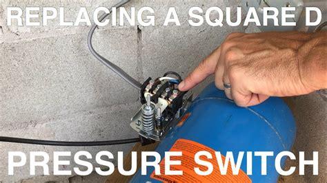 replacing a square d pressure switch