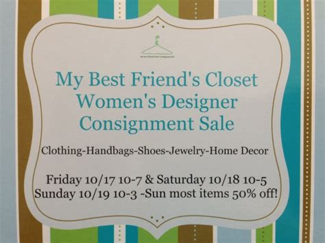 my best friend s closet consignment sale newport ri patch
