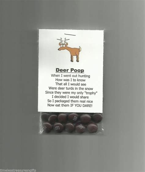 details   homemade deer poop chocolate candy