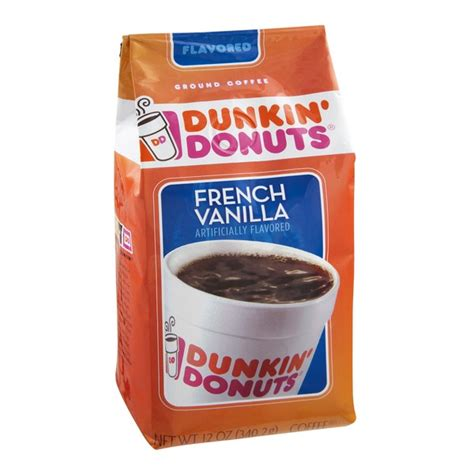 Download the app to your smart phone and get points for every thing. French Vanilla Coffee Calories Dunkin Donuts - Image of ...